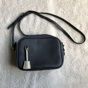 J. Crew Signet Crossbody Bag in Pewter